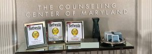 The Counseling Center of Maryland awards table