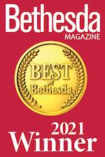 Best of Bethesda Magazine Badge 2021
